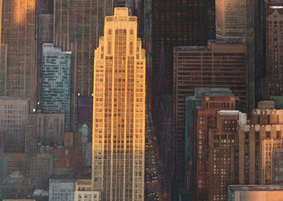 Manhattan original watercolour image size approx 74cm x 53cm SOLD