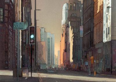 Urban Light Peter Street Manchester
